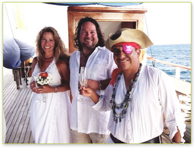Caribbean Island Wedding and an Island Windjammers Cruise